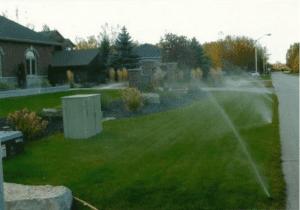Irrigation, Collingwood, ON