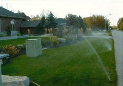 Sprinkler Installation in Wasaga Beach, Ontario