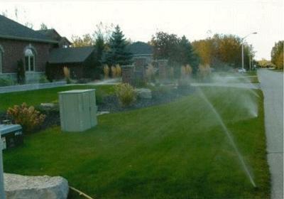 Sprinkler Installation in Collingwood, Ontario