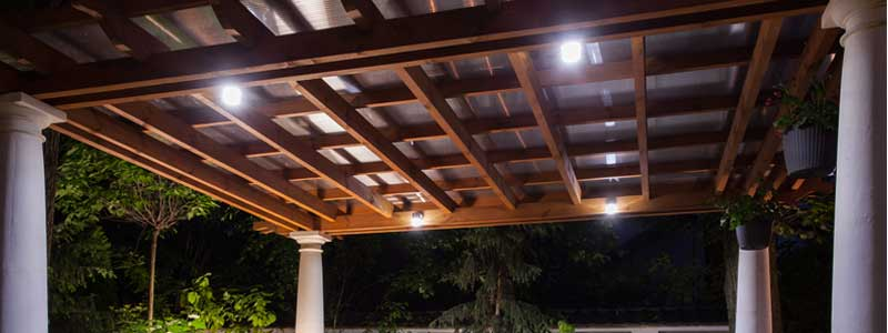 Outdoor Lighting in Wasaga Beach, Ontario