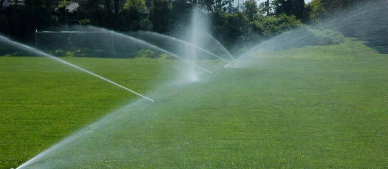 Sprinklers in Barrie, Ontario